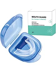 Mouth Guards for Teeth Grinding, Anti Snoring Devices Snore Stopper Sleep Aid Custom Fit Dental Guard Case for Sleeping