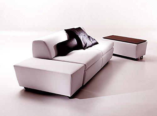 Sofa Bett Doppelbett Sirio, Stoff Mikrofaser Divano letto 250x72x100cm / rete 180x195cm Tessuto Microfibra Verde