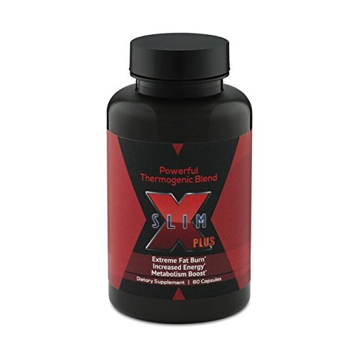 X-SLIM PLUS®: Weight Loss Dietary Supplements - Fat Burning Supplements for Men and Women - 60 Premium Quality Thermogenic Fat Burner Capsules - Metabolism and Energy ()
