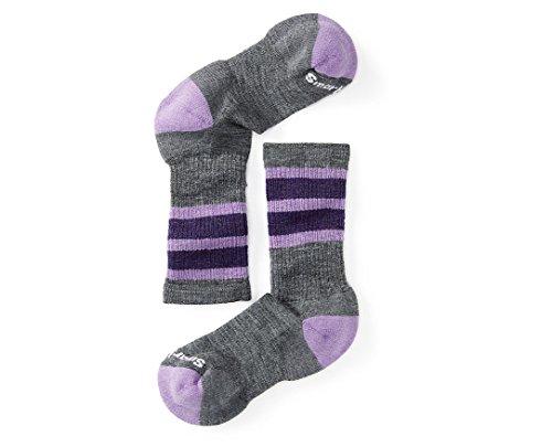 Smartwool Kid's Striped Hike Medium Crew Socks Small