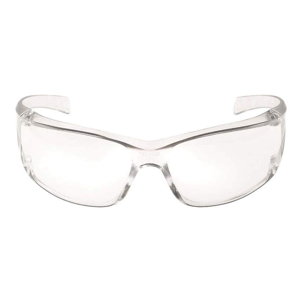 3M Gafas de seguridad Virtua con lentes antiarañazos transparentes 71500-00001