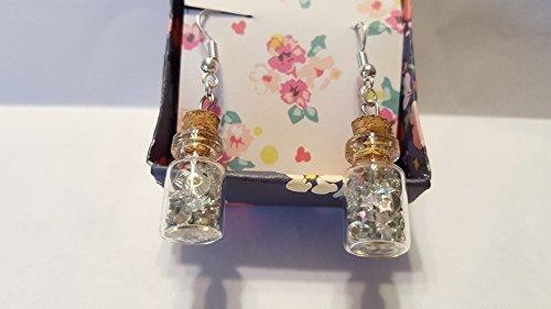 - Twinkle Stars Silver Earrings