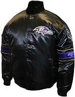 NFL Men's Baltimore Ravens Prime Satin Jacket
