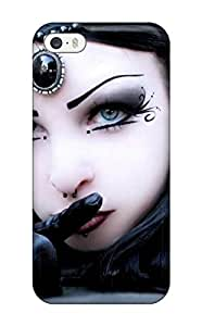 Fashionable Style Case Cover Skin For Iphone 5/5s- Goth Girl