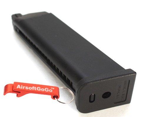 WE Cargador para G17 / G18 / G18c Serie GBB - AirsoftGoGo Llavero Incluido