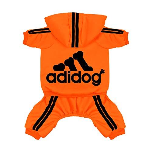 2839d6a889ae0 Scheppend Original Adidog Pet Clothes for Dog Cat Puppy Hoodies Coat Doggie  Winter Sweatshirt Warm Sweater