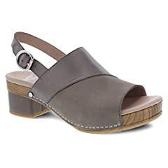 The madalyn is a stylish sling back sandal featuring mixed materials for visual interest. An adjustable back strap, stapled construction, a stylish leather-wrapped heel, leather linings, and a lightweight rubber outsole for long-lasting wear ...