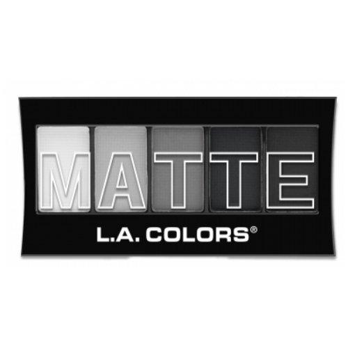 L.A. Colors Matte Eyeshadow - Black Lace