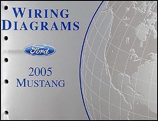 2005 ford mustang wiring diagram manual original ford amazon com 1985 Ford Mustang Wiring Diagram 2005 ford mustang wiring diagram manual original ford amazon com books