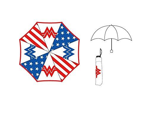 DC Comics Wonder Woman - Panel Umbrella 36 x 21in (Dc Comics Red Hood Hat)