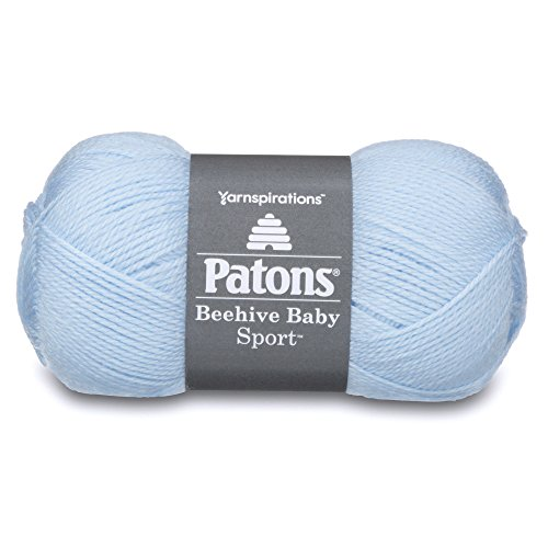 - Patons Beehive Baby Sport Yarn, 3.5 oz, Bonnet Blue, 1 Ball