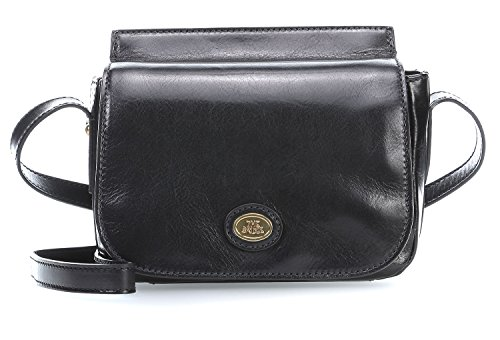 The Bridge Story Donna Bolso bandolera II piel 22 cm black_black, schwarz
