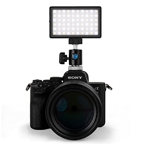 Luz LED bicolor + paquete de montaje p/ cámaras DSLR profes.