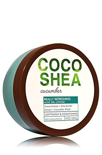 Bath and Body Works Signature Collection  Coco Shea Cucumber  Aloe Gel Lotion 8 Ounce Coco - Outlet San Diego Shopping