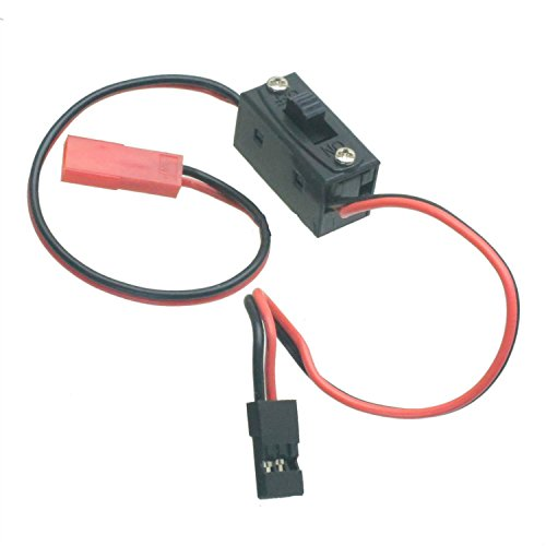RC LED Accessory Switch W/ JST F and JR M Connector Quadcopter Plane Truck Ca