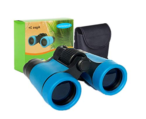 Kid Binoculars Shock Proof Toy Binoculars Set -Educational Learning, Birthday Presents - Gifts for Children