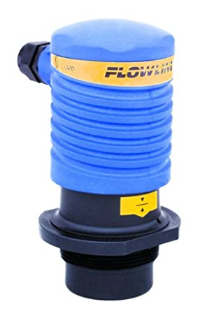 """Flowline LU20-5001-IS EchoTouch IS Ultrasonic Level Transmitter with 18' Cable, 2"""" NPT"""