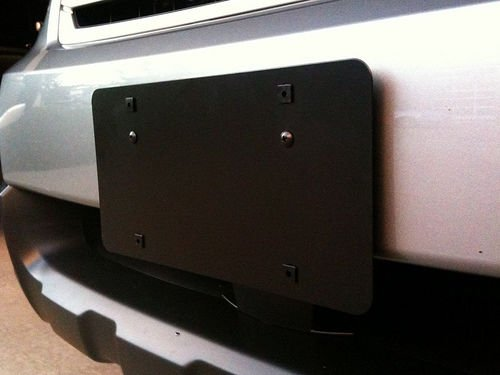 Front Bumper License Plate Mounting Bracket for Subaru Outback 2008 09 10 11 12 13 2014 2015 2016 2017 2018 ()
