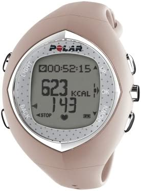 POLAR F6 Women's Heart Rate Monitor Watch (Pink Coral)