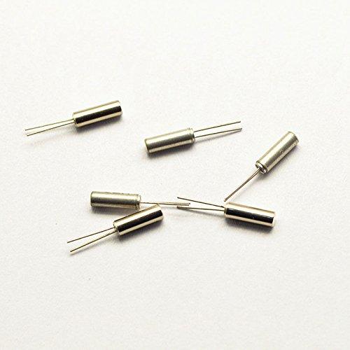 Exiron 100pcs 32.768KHz 32768HZ Crystal Oscillator 2 x 6 mm TOP NEW