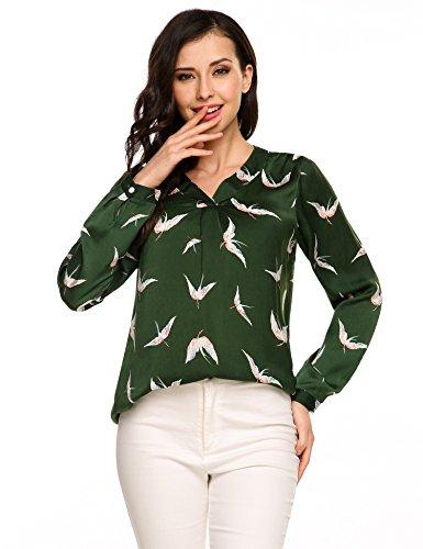 Green Blouse Shirt - 6