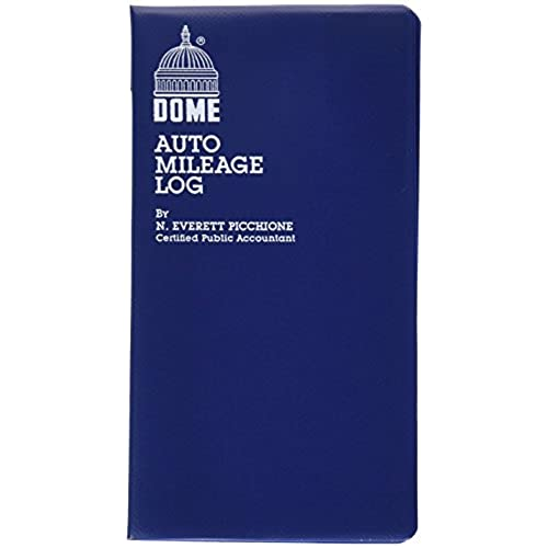 dome 750 mileage log expense record 3 5 x 6 5 inches logs 324