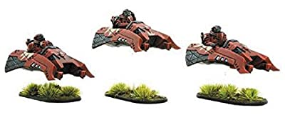 Gates of Antares: Algoryn AI Intruder Scout Skimmer Squad by Warlord Games