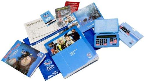 PADI Open Water Crew Pak with eRDPML and Blue Log Book 60067 Diver Student Manual