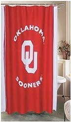 NCAA Shower Curtain NCAA Team: Oklahoma