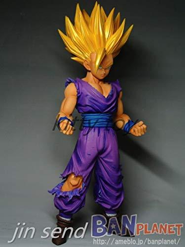 KattyPT Action & Toy Figures - 23cm PVC Anime Dragon Ball Z Action Figures Master Stars Piece The Son Gohan Super Saiyan Dragonball z Figurine Children KB001 1 PCs