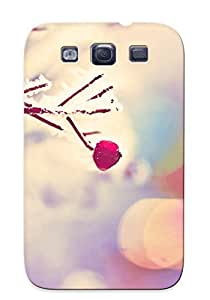 High-quality Durable Protection Case For Galaxy S3(frosty Branch) For New Year's Day's Gift