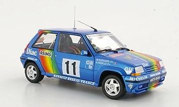 Renault 5 GT turbo, No.11, A.Oreille / M.Roissard
