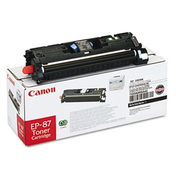 (EP87BK (EP-87) Toner, 5000 Page-Yield, Black )