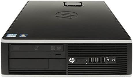HP Elite 8200 Sff - Ordenador de sobremesa (Intel Core I5-2400 Quad Core, 8GB RAM, SSD de 240 Gb, DVD, WINDOWS 7 PRO Original) Negro (Reacondicionado)