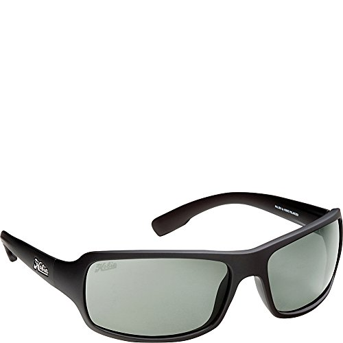 Hobie Malibu Rectangle Sunglasses,Matte Black Frame/Grey Lens,One - Sunglasses Hobie Amazon