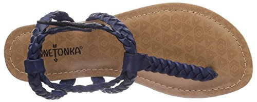 Minnetonka Liberty - Zapatos Mujer Blau (Navy / NVY)