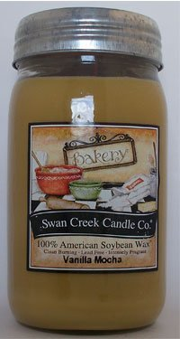 Swan Creek Candle Co. Salted Caramel Popcorn (24 oz)