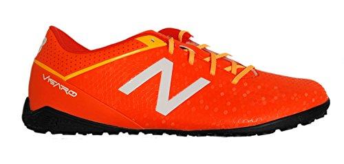 自分自身帽子現実的New Balance Visaro Control Turf Shoes - Lava & Impulse/サッカーシューズ Visaro Control Turf Shoes