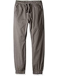 Southpole boys Big Boys Jogger Pants in Basic Stretch Twill Fabric