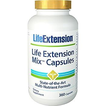 Life Extension Mix Capsules - 360 capsules