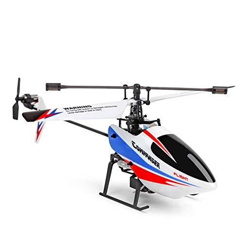 Centishop Remote Control Helicopter,Weili V911-2 Four - Channel Single 6G Mode 6-axis Gyroscope Propeller Remote Control Helicopter for Kids & Adult Micro RC Helicopter Toy