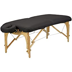 Inner Strength E2 Portable Massage Table Package (Black)