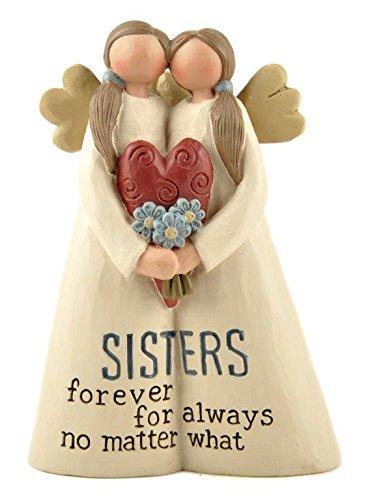 Sister Angel Figurine (Sisters Forever' ANGELS W/Heart)
