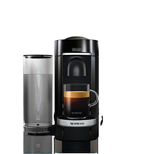 Delonghi ENV155BCA Nespresso VertuoPlus Deluxe Coffee & Espresso Maker, Black