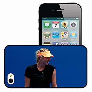 Personalized iPhone 4 4S Cell phone Case/Cover Skin 15251 maria sharapova by zanarkand remnant d37gxl7 Black