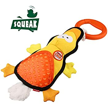 Pet Supplies : Gigwi I'm Hero Plush Squeaking Dog Toys