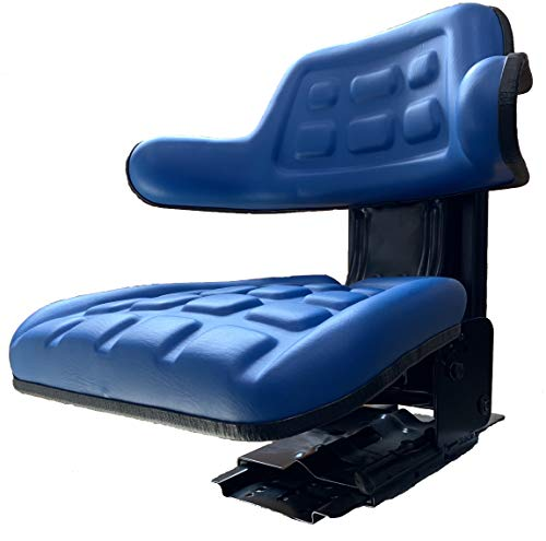 Suspension Seat for Ford Tractor Blue 2000, 2600, 2610, 3000, 3910, 4000, 3600, 4600 (5000 Ford Tractor)