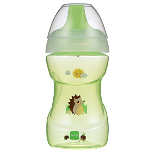 MAM Fun to Drink Cup, Unisex, 9 Ounces, 1-Count (Bottle To Cup Trainer Sippy)
