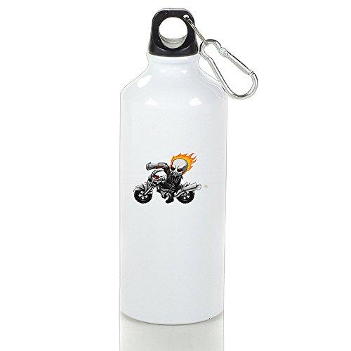 [DETED Seamless Ghost Rider Poster Drinkware Water Bottle For Gym Travel Home Office Running Sport Outdoor] (Lightning Strike Costume)