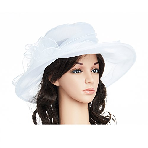 Dress summer white hats for church